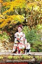 [京都ロケーション]お子様と愛犬と一緒に和装フォトウェディングが実現