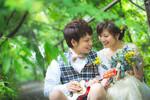 [人気]京都であさこなカップルの前撮りレポート続き